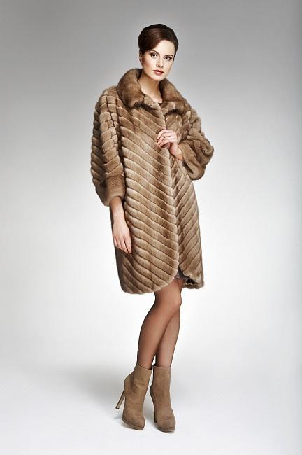 Модные Норковые Шубы 2013